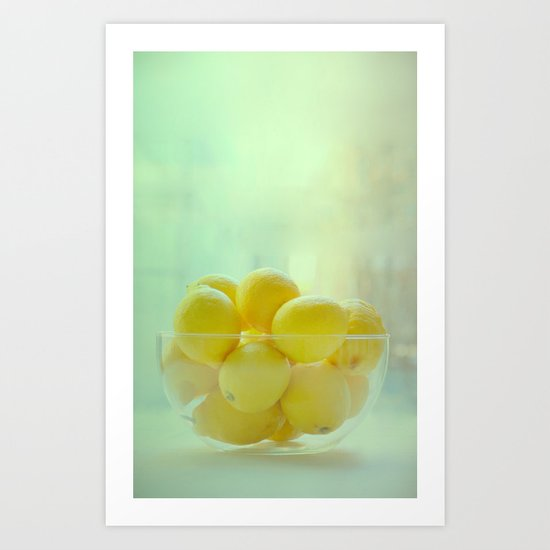Citrone Art Print
