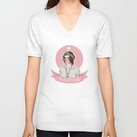 harry styles V-neck T-shirts featuring Harry Styles by vulcains