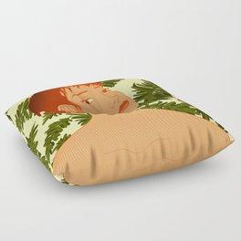 Leaf Me Be Floor Pillow
