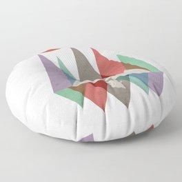 Squatch Mountain Floor Pillow