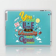 Art and Insanity Laptop & iPad Skin