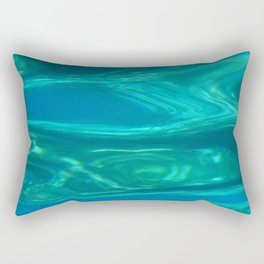 Below the surface - underwater picture - Water design Rectangular Pillow