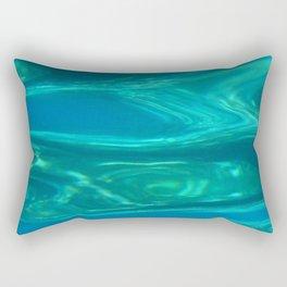 Below the surface - underwater picture - Water design Rectangular Pillow