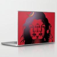 shiva Laptop & iPad Skins featuring Divine Shiva by Aurapim Vorasopan