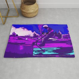 SCOOT - Stunt Scooter Skateboard Park Rug