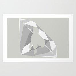 Emma Frost Art Print
