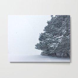 Infinite Winter Metal Print