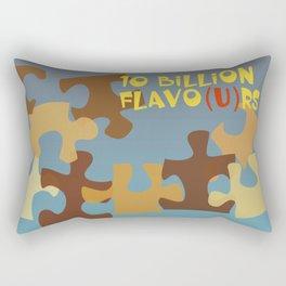 10 Billion Flavo(u)rs Rectangular Pillow