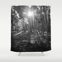 smiths Shower Curtains featuring To see earing The Smiths by Tiago Perestrelo