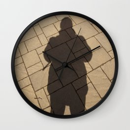 Me in the #park Wall Clock