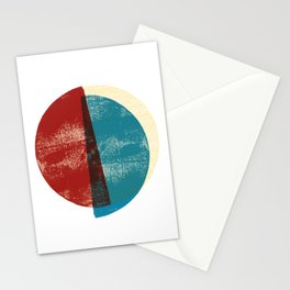 Circle Pieces 1 Stationery Cards