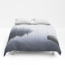 Morning blues Comforters