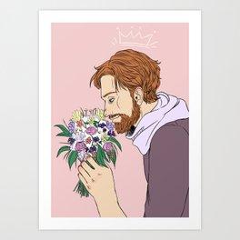 Jehan Prouvaire Art Print
