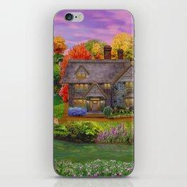 Autumn Home Landscape iPhone Skin