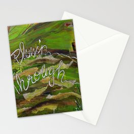 Plown' Through Stationery Cards