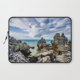 Tobacco Bay Beach, Bermuda Laptop Sleeve