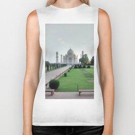 Taj Mahal Grounds Biker Tank