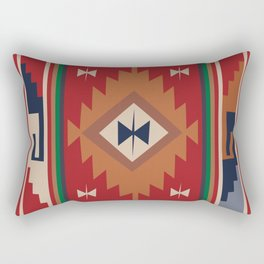 American Native Pattern No. 19 Rectangular Pillow
