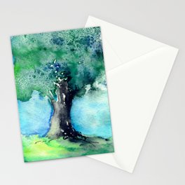 Oak Tree Stationery Cards