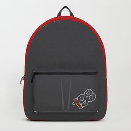 198 Slant Six Wedge Backpack