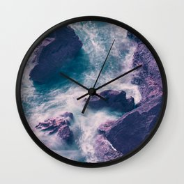 Troubled Waters Wall Clock