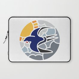 Swallow in the sky mosaic Laptop Sleeve