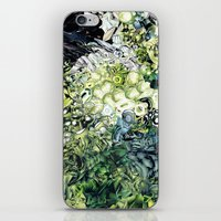 green lantern iPhone & iPod Skins featuring Green Lantern  by MelissaMoffatCollage