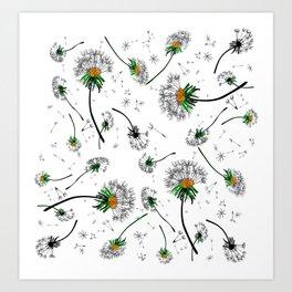 Dandelions Art Print