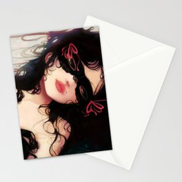 Le masque Stationery Cards