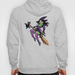 Witchy Babe Pin Up Hoody