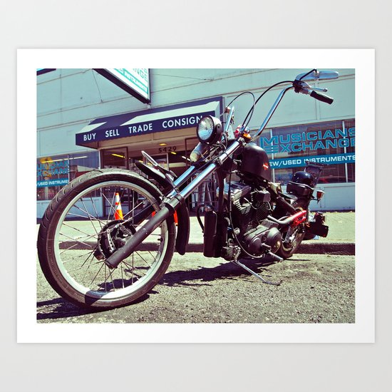 South Tacoma Chopper Art Print
