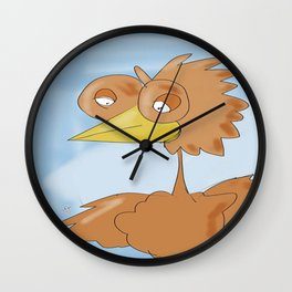 birding away Wall Clock
