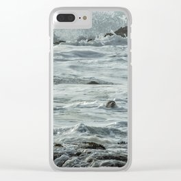 Harbor Seal, No. 1 Clear iPhone Case