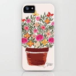 Floral Bouquet iPhone Case