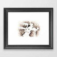 MOMENTO Framed Art Print