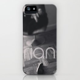musing about..... iPhone Case