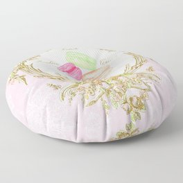 French Patisserie Macarons Floor Pillow