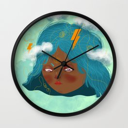 Don't let your emotions rule you! Wall Clock
