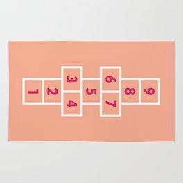 Hopscotch Pink Rug