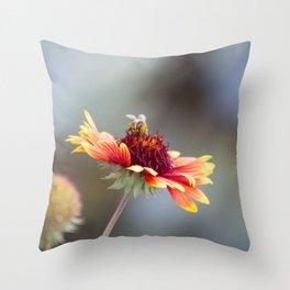 bees Throw Pillow