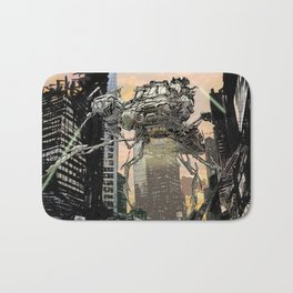 Martian attack Bath Mat