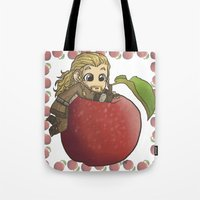 fili Tote Bags featuring Fili&Apple by ScottyTheCat
