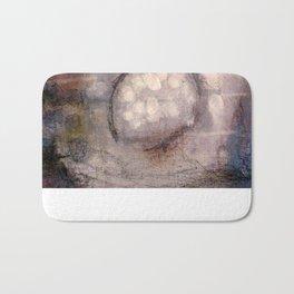 Lost Eye - Mixed Media Acrylic Abstract Modern Art, 2009 Bath Mat