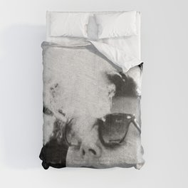 JFK Cigar and Sunglasses Cool President Photo Photo paper poster Comforters