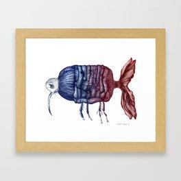 FANTASY ZOO Framed Art Print