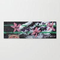 hawaiian Canvas Prints featuring Hawaiian by Shereen Yap