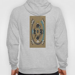 American Native Pattern No. 40 Hoody