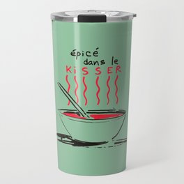 Dans le kisser Travel Mug
