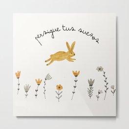 bunny dreams Metal Print