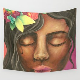 Fuity Lady Wall Tapestry